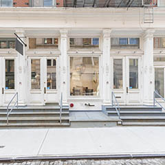 83 Wooster Street storefront square